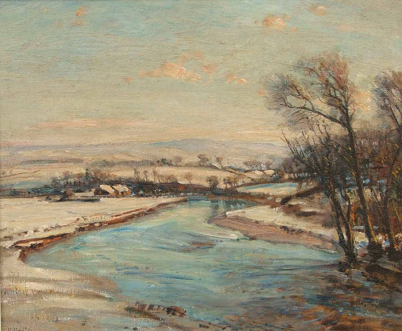 Winter in Wharfedale by